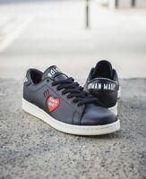 Adidas Originals Human Made Stan Smith HM Black Leather UK 7 Gazelle Pharrell OG
