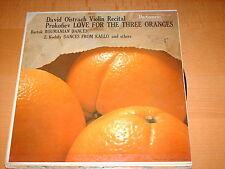 David Oistrach-violin Recital-mono Lp-parliament-118