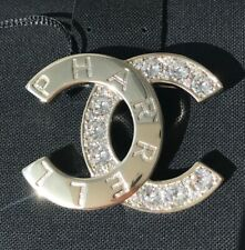 Crystals Brooch Limited Capsule Collection Chanel Pharrell 2019D Cc Logo Golden