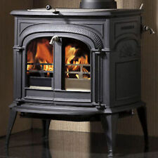 Vermont Castings Wood Burning Stove Intrepid II Catalytic Black Cast Iron