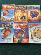 Flat Stanley World Wide Adventures Books Lot Of 6 Kids Books!