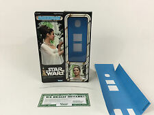 "Custom Vintage Star Wars 12"" Princesa Leia Ceremonial Caja Versión Moderna + Insertos"