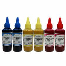 6 x 100ml Sublim SHARP Dye Sub sublimazione inchiostro set 3 COLORI PER STAMPANTI EPSON