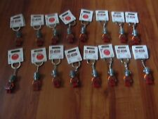 LOT OF 16 STAR WARS LEGO NUTE GUNRAY KEYCHAINS, BRAND NEW