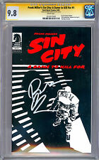 SIN CITY A DAME TO KILL FOR #1 CGC-SS 9.8 SIG BY DIRECTOR ROBERT RODRIGUEZ 2005