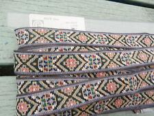 4,6 mètres de Frise Tissu Gallon 100% coton....textile vintage...