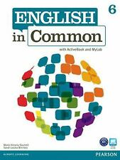 English in Common 6 with ActiveBook and MyEnglishLab