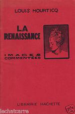 Images Commentées - La Renaissance - Eds. Hachette - 1954