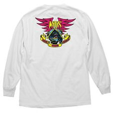 Santa Monica Airlines Natas Kaupas Panther Long Sleeve Shirt White Xxl