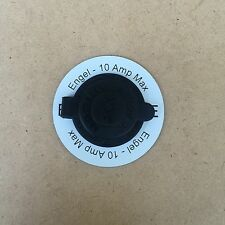 Round 12v Power Outlet Label ENGEL suit Narva and Marine style Socket