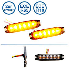 2er Sparset LED-MARTIN® R65 Blitzmodul SF6 - super flach - 12V 24V - mit ECE-R65