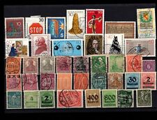 Germany RAINY DAY FUN LOT Used Mint Get Started With A Bunch Of Stamps #12-15 5M