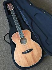 RRP £280 Orchestra / Folk Shape Acoustic Guitar in Hard Case Bundle