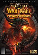 PC/Mac - World of WarCraft: Cataclysm (NEW)