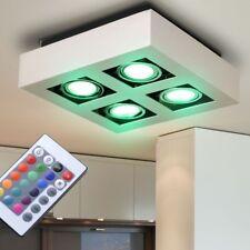 RGB LED COPERTURA COSTRUZIONE Faretto camera da letto lampada parete mobile BIG
