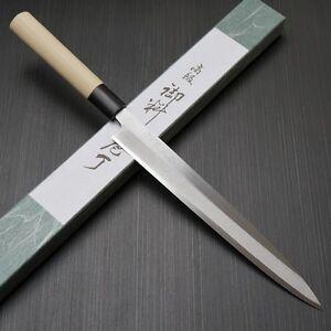 Japanese Tojiro Shirogami Steel Sushi Sashimi Yanagiba Knife 240mm F-908 Japan