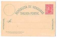 Honduras Postal Stationery Card 2c Hg 1 Unused