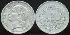 5 francs  LAVRILLIER    ALU 1949 B   ( bis )
