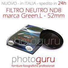 Filtro Neutro ND8 - Neutral Density - 52mm Canon Nikon