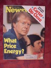 NEWSWEEK May 2 1977 5/2/77 JIMMY CARTER ENERGY ANNIE ++