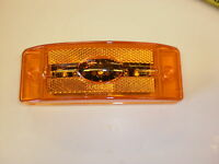 Maxxima Amber LED 2 x 6 Marker Clearance Tail Light Truck Trailer Reflective RV