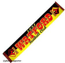 ECHARPE WATFORD FC Angleterre scarf schal cachecol sjaal no drapeau maillot ...