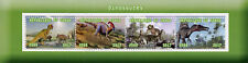 Congo 2017 CTO Dinosaurs 4v M/S I Dinosaur Stamps
