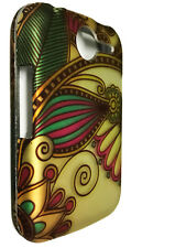 Antique Flower Hard Faceplate Snap On Cover Phone Case for Pantech Renue P6030