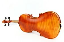 Master 4/4 Violin flamed maple Stradi model very nice sound free case bow #3077