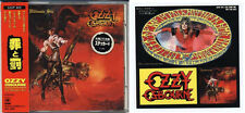 OZZY OSBOURNE The Ultimate Sin JAPAN 1st Press 1986 CD 32DP405 W/Box Obi Sticker