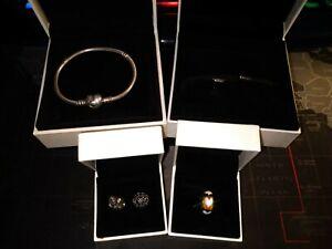 Pandora jewellery job lot all genuine and boxed all hallmarked
