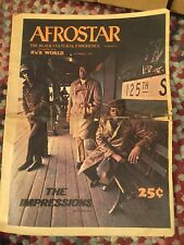 Afrostar Black Cultural Experience Newspaper 10/2/69 americana jet ebony power