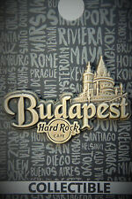 Hard Rock Cafe Budapest Hungary Core Destination Name Series Pin 2017