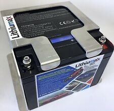 Lithiumax 850CCA LCD Lithium Road & Race Car 4WD Boat Battery with Volt LCD