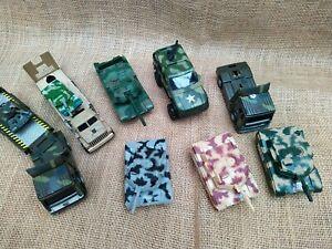 10 x Military Toy Vehicles Model Tank Transporter Toys Trucks Bundle