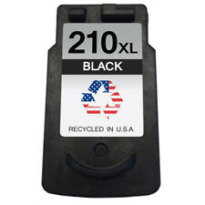 Canon PG-210XL 1 Black Remanufactured Ink Cartridge Shows Ink Levels
