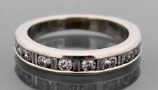 Ladies Wedding Size 4.5 - .72ctw 14k White Gold Diamond Ring Band Womens