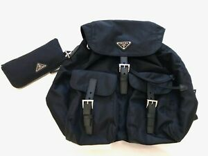 Prada  Backpack + Pouch  AUTHENTIC  GUARANTEED!!!!!