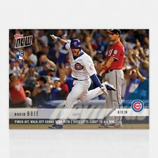 2018 TOPPS NOW #591 DAVID BOTE PINCH-HIT WALK-OFF GRAND SLAM WITH TWO OUTS