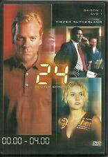 DVD - 24 HEURES CHRONO avec KIEFER SUTHERLAND /SAISON 1 DVD 1 ( 00H00-04H00)