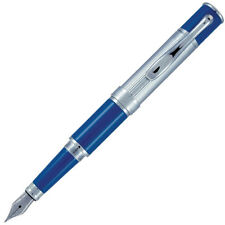 Monteverde Mini Jewelria Fountain Pen - Cobalt Blue - Fine Nib