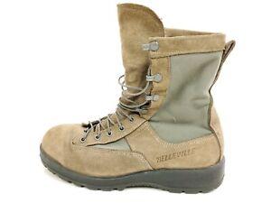 Belleville 695V US Air Force Cert Quality Goretex Boots 9.5 R Sage Green