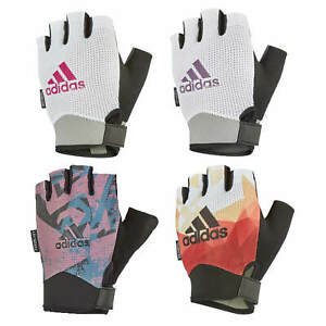 Adidas Womens Performance Gloves Ladies Gym Weight Lifting Fitness Workout
