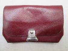-AUTHENTIQUE portefeuille/porte-monnaie  cuir  TBEG vintage 50's