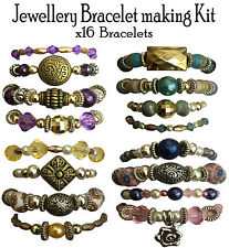 x16 Girls Bracelet Jewellery Making Kit Gift Set