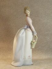 More details for lladro 'basket of love' figurine no. 7622 collectors society 1994 - mint con.