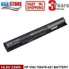 VI04 Battery for HP 756743-001 756744-001 756745-001 756478-421 V104 Notebook