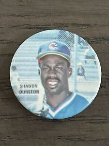 1986 Star Baseball Buttons Shawn Dunston Chicago Cubs
