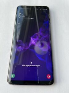 Samsung Galaxy S9+ SM-G965 - 64GB - Lilac Purple (Unlocked) + 128GB MicroSD Card