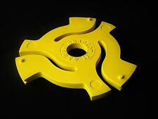 """45 Rpm Record Adapter Pop Art Sculpture Vinyl Insert Handmade 3-D 12"""" Spindle"""